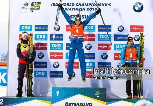Віват, чемпіоне! Це фото можна сміливо показувати онукам. Фото biathlon.com.ua.