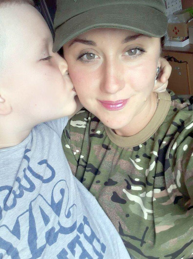 «Найбільше щастя для мене – бути мамою сина», - каже Христина.