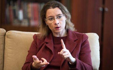 Посол Франції в Україні Ізабель Дюмон обурена.