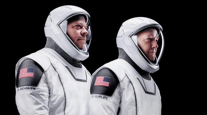 За ці місяці, проведені в космосі, чоловіки стали справжніми друзями. Фото ввс.com.