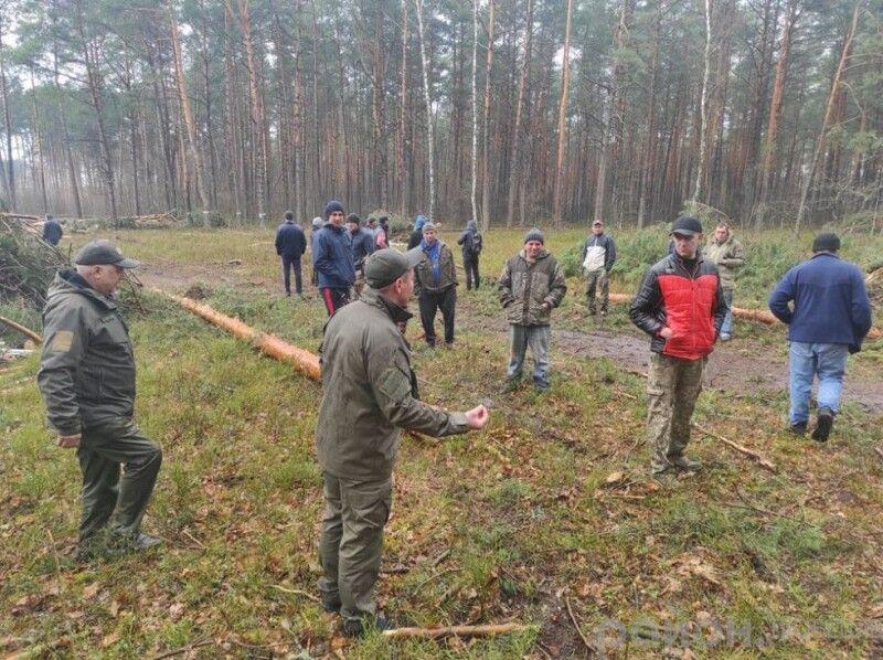 Люди не раз зверталися до керівництва лісгоспу з проханням бодай зменшити масштаби вирубки.
