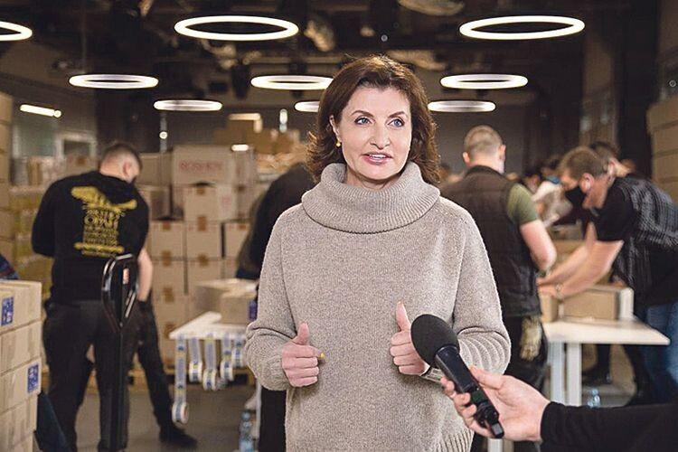 Марина Порошенко: «У передвеликодні вихідні працюємо на «конвеєрі добра», де завжди панує піднесена атмосфера».