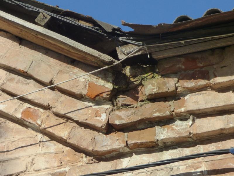 Такий на вигляд аварійний дах.