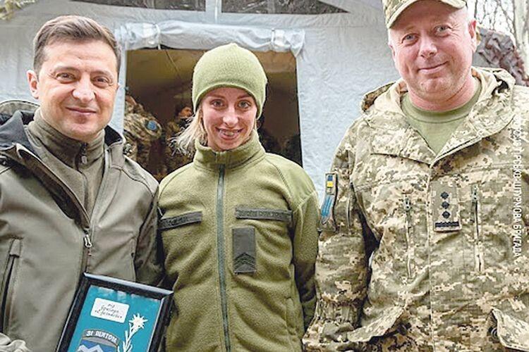 Президент Володимир Зеленський нагородив рівнянку  орденом Богдана Хмельницького ІІІ ступеня.