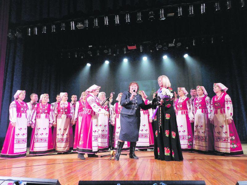Привітання від земляків із Горохівщини – народного колективу профспілок України «Освітянка» – було особливим.