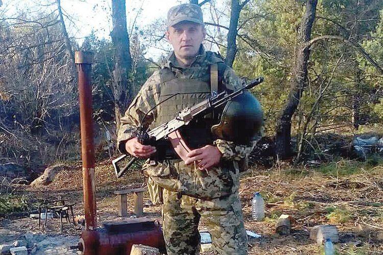«Мивідповідаємо забезпеку йоборону повітряного простору»,— каже Віктор Іоникійович, який узоні проведення ООС— стрілець– зенітник.