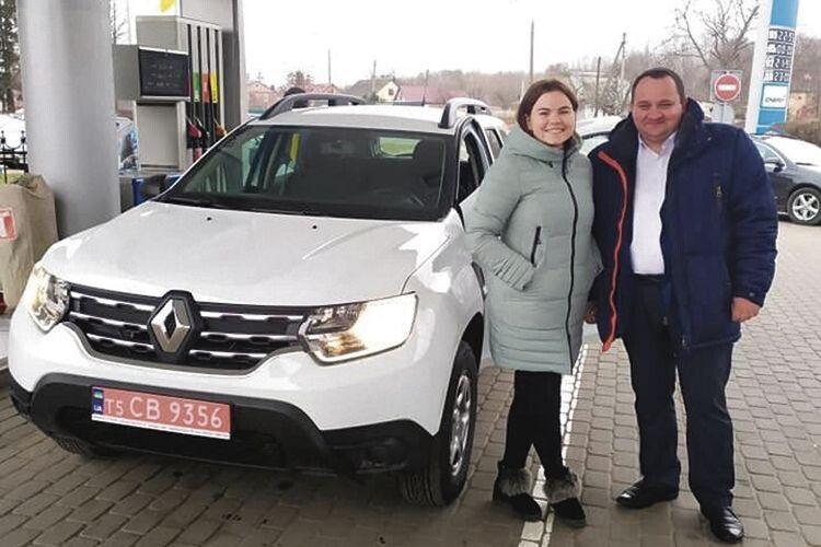 Появі транспорту радіють і Катерина Бляшик, і голова Самарівської ТГ Микола Маргес.