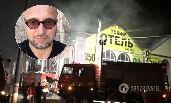 Власника готелю Вадима Чорного суд заарештував  на два місяці.