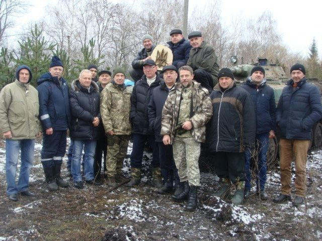 Поїхати в зону АТО для колективу «Маневицької сотні» було справою честі.