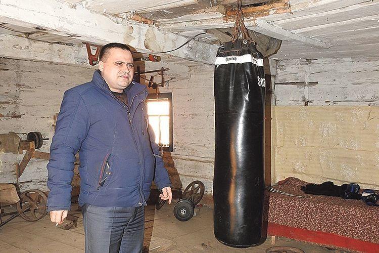 Володимир Сергійчук уже подбав, щоб діти займалися спортом у кращих умовах.