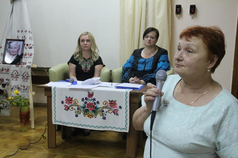 Ініціатор і організатор вечора-спомину - директор головної книгозбірні Волині Людмила Стасюк.