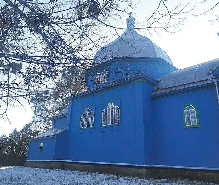 350-річна місцева церква збудована без жодного цвяха.