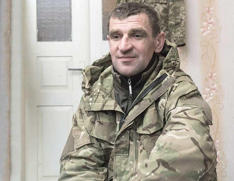 Кіборг Василь Шумик