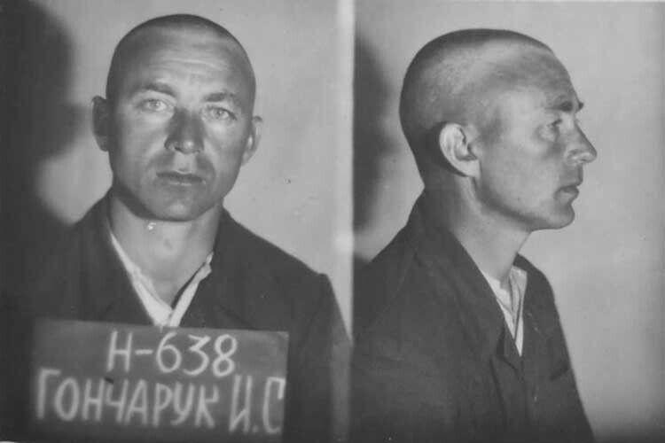 Коли у другій половині 1980х років СРСР захитався, то КДБ для залякування організувало серію повторних судів над колишніми бійцями УПА. Іван Гончарук  на слідстві  у 1946 і в 1987му.