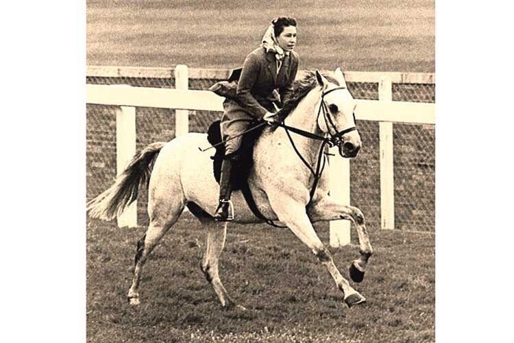 1961-й: монархиня наспортивному святі промчала звітерцем.