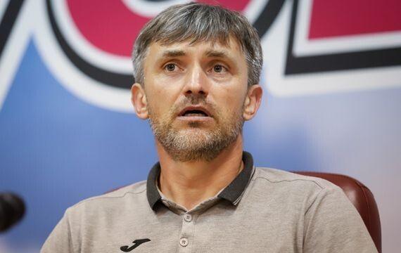 Руслан Мостовий: «Ми мали реалізовувати свої моменти». Фото fcvolyn.net.