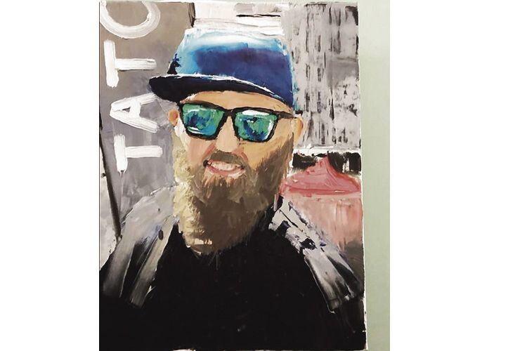 Цей портрет тата для юної художниці особливо цінний.