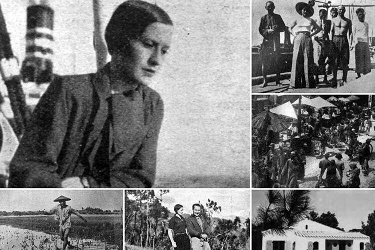 Софія Яблонська стала однією з перших жінок, яка подорожувала з фото та кінокамерами.