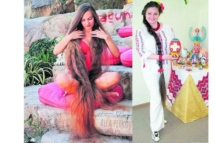 Від волосся Алли Перкової буквально мліють на Заході. Жанна Миляшкевич: «Я себе без коси не уявляю!»