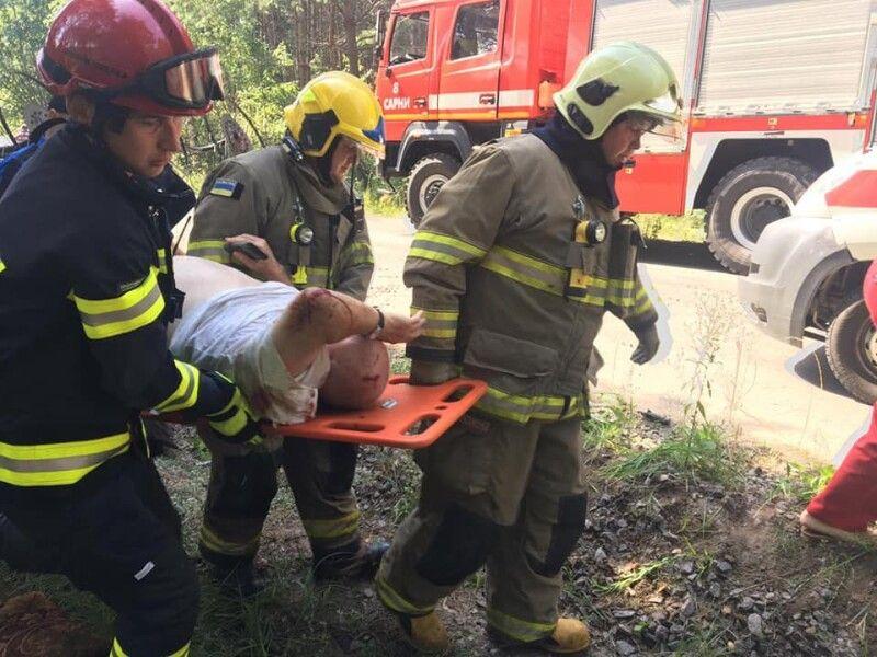 Аварія трапилася поблизу села Чудель Сарненського району.
