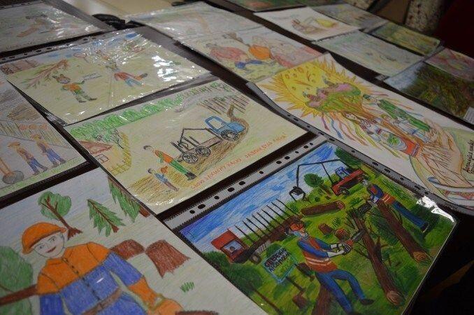 На конкурс надійшло 57 малюнків.