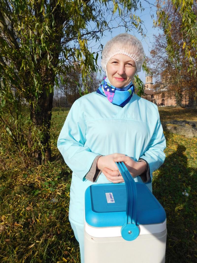 Неоніла Гримайло - на передовій в боротьбі з епідемією коронавірусу на Горохівщині.