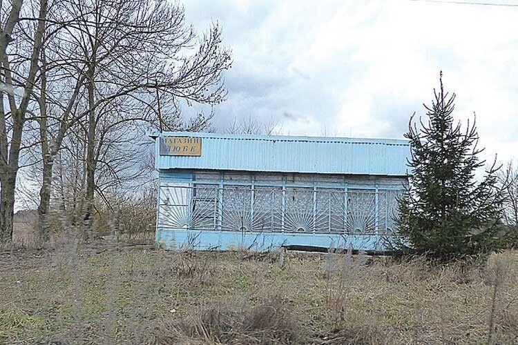 Магазин у Світлому давно стоїть пусткою.