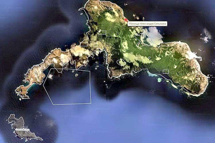 Острів до1966-гоназивався Мас е Тьєра (в перекладі з іспанської означає Велика земля), а тепер носить ім'я Робінзона Крузо і належитьЧилі.