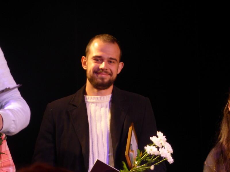 Остап Жежерун отримав відзнаку журналу