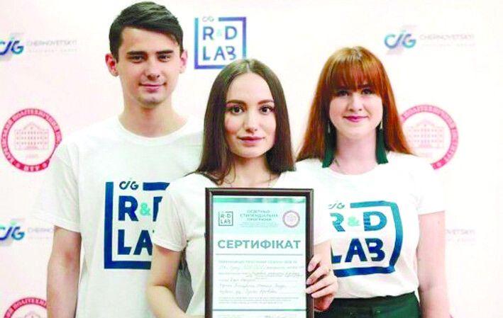 Молоді винахідники отримали грант на суму 400 тисяч гривень.