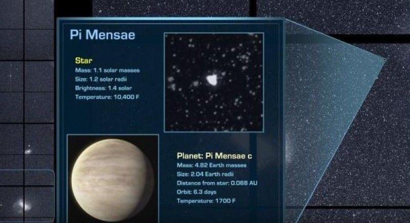 Експерти кажуть, що ця скеляста планета може бути багата на газ, і вона схожа на Нептун.