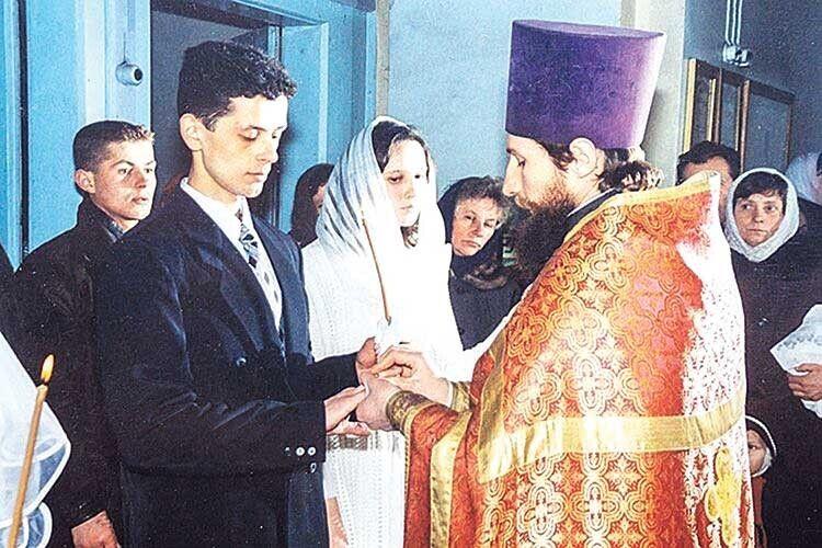 Незабутній день, коли Сергій та Ірина Новаки взяли церковний шлюб.