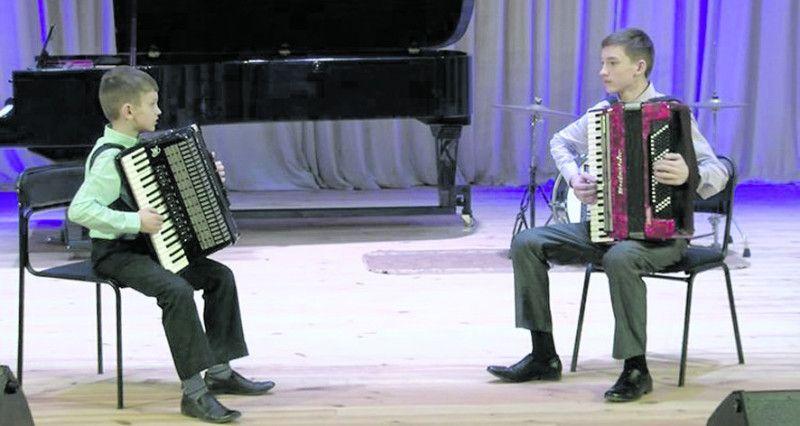 Брати Сергій та Олександр Чивелі з Білорусі.