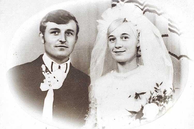 Пам'ятний день весілля.