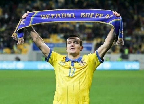 «Це наша збірна. Вони – найкращі з найкращих. І їм потрібна підтримка». Фотo dynamo.kiev.ua.