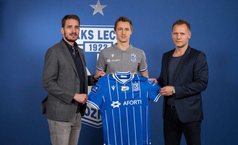 «Хотів би із «Леха» повернутися в збірну і поїхати на Євро-2020». Фото lechpoznan.pl.
