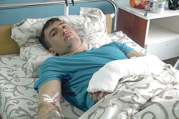 Юрій Новицький розповідає, що усе сталося так швидко, що й не встиг збагнути, що коїться.