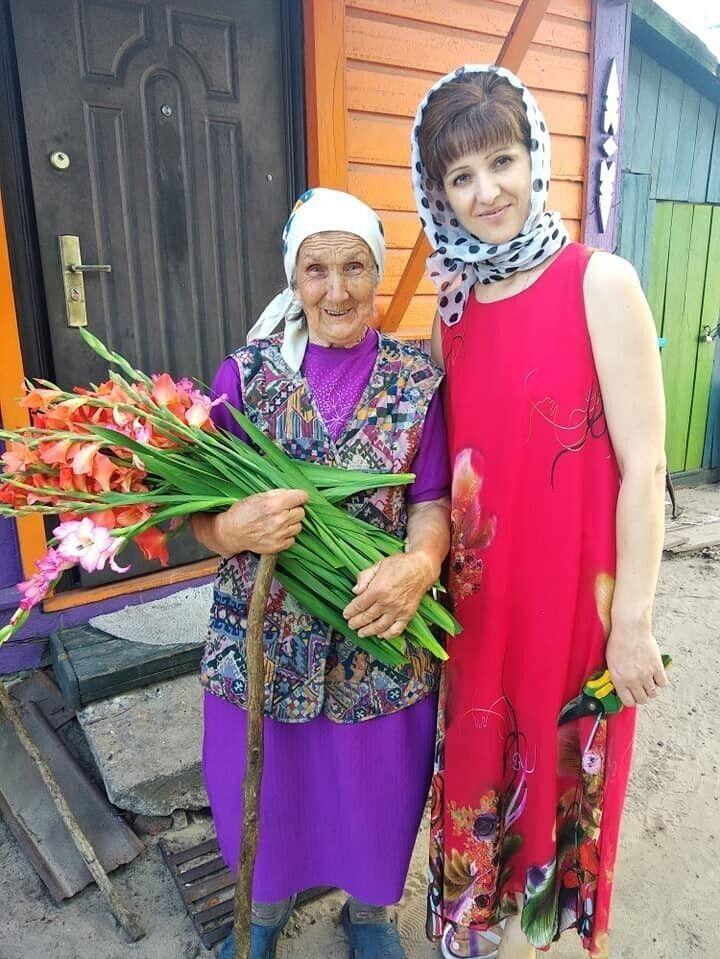 Ганна Марчук каже, що на вирощування рослин не шкодує ні сил, ні часу.