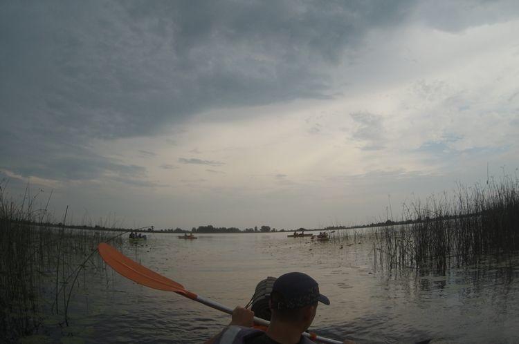 Виходимо на озеро Святе.