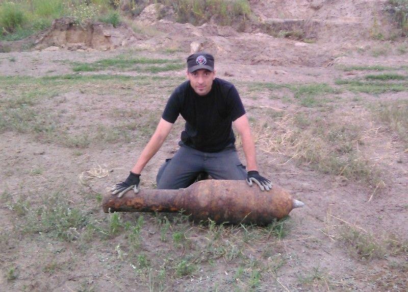Реактивно-фугасний снаряд – один із найнебезпечніших «трофеїв» Ігоря Заболотного.