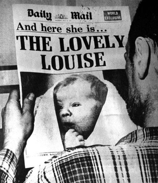 Перші шпальти газет у кінці липня 1978 року розпочиналися з фото маленької Луїзи. Фото dw.com.