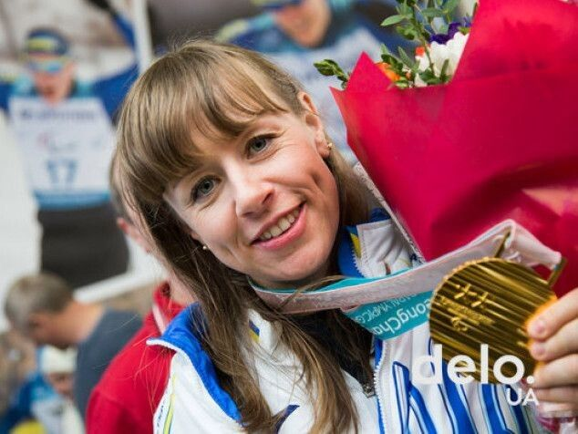 Наша чемпіонка – красуня! Фото delo.ua.
