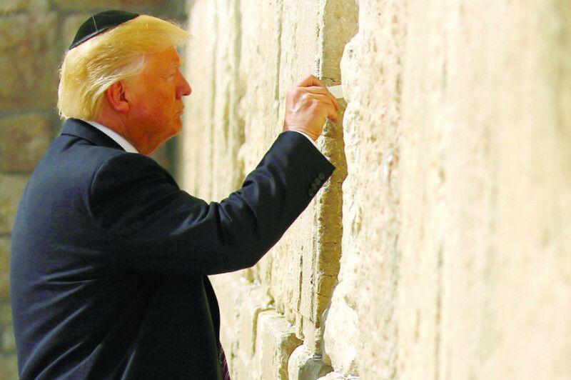 Американський глава держави Трамп – один із тих, хто визнав право Ізраїлю на Єрусалим із його Стіною плачу (всупереч Генасамблеї ООН).