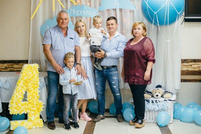 У родині Линчуків патріотами стають з колиски. Фото з сімейного архіву.