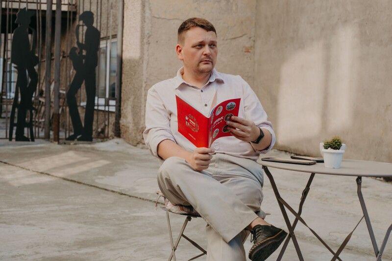 «Роботи багато. Хочеться ще в Луцьку культурний центр. На кшталт люблінського. Культурне серце міста». Фото Макс ТАРКІВСЬКИЙ.