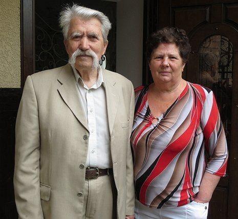Левко і Надія Лук'яненки. Фото transkarpatia.net.