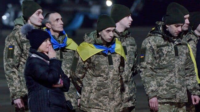 Ірина Геращенко під час звільнення заручників.
