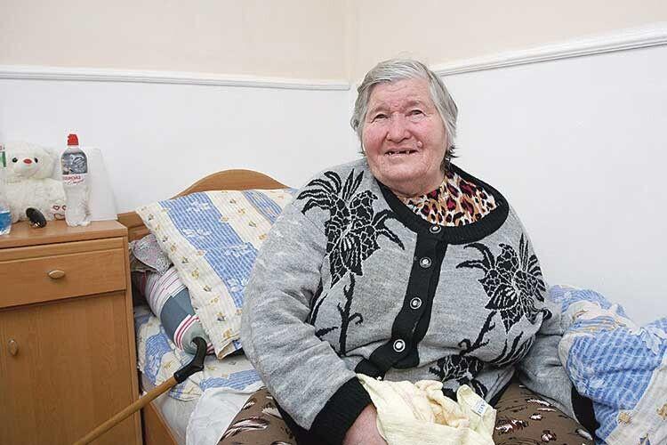 Старенькі задоволені комфортними умовами в кімнатах та уважним і турботливим ставленням персоналу.