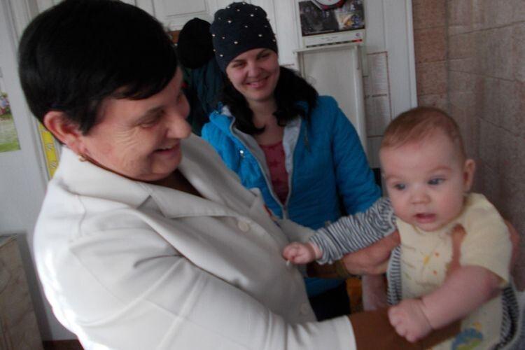 Досвідчений педіатр Євгенія Тимофіївна Нечипорук мріє  про нормальні умови для прийому маленьких пацієнтів.