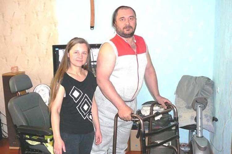 «Дюймовочка» Світлана стала для Євгена справжньою опорою.